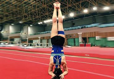 TRACIE ANG, Malaysian artistic gymnast.