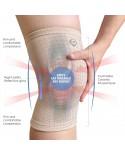 Coreblue FIR Energy Knee Support (Beige)