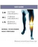 Coreblue Far Infrared Ray Knee Support (Grey)