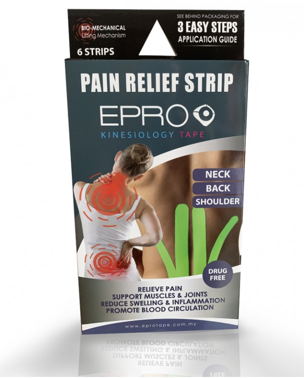 EPRO Pain Relief Strip - Pink & Neon Green